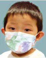 3 in 1 Earloop Mask Child, Multi-Color