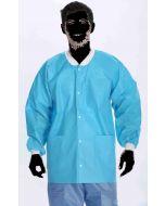 Extra Safe Lab Jackets Deep Sea Blue