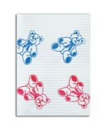 Teddy Bear Print Bibs