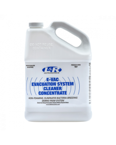 E-Vac Evacuation System Cleaner, Concentrate