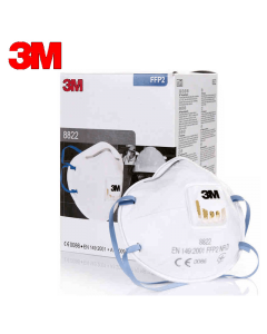 3M KN95 MASK 8822 Disposable Respirator Mask FFP2 Valved N95 LEVEL 10 PACK