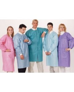 Easy Breathe Lab Coat 10/PK