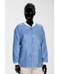 Extra Safe Lab Jackets Steel Blue