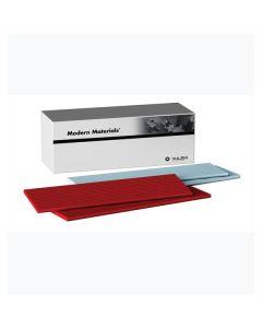 Utility Wax Strips, 11 x 3/16, Red, Bx/75,
