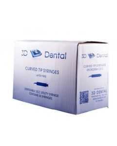 Disposable Curved Utility Impression Syringes