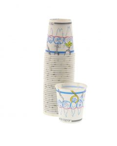 Tidi Tooth Waxed Paper Cups