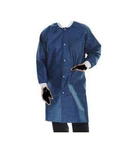 Extra Safe Lab Coats True Blue