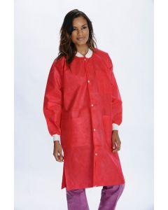 Extra Safe Lab Coat 10/Pkg