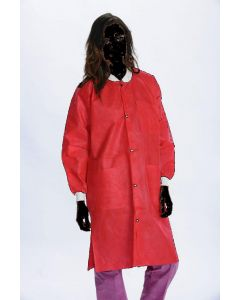 Extra Safe Lab Coats Red