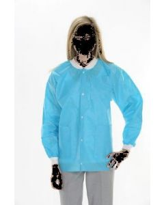 Extra Safe Lab Jackets Sky Blue