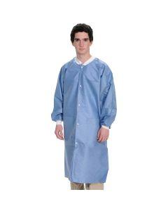 Extra Safe Lab Coats Steel Blue