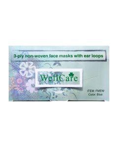 3-ply non-woven Face Masks Pk/50